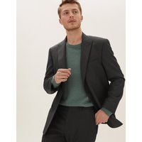 M&S Collection Regular Fit Jacket with Stretch