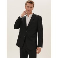 MandS Collection Black Regular Fit Jacket