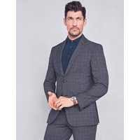 MandS Collection Checked Slim Fit Jacket