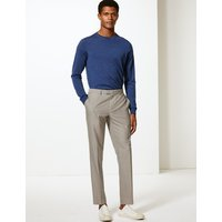 MandS Collection Textured Skinny Fit Trousers