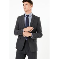 M&S Collection The Ultimate Big & Tall Charcoal Tailored Fit Jacket