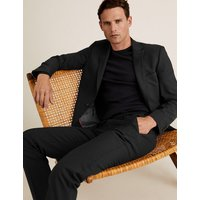 M&S Collection The Ultimate Black Slim Fit Jacket