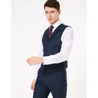 MandS Collection Tailored Wool Waistcoat