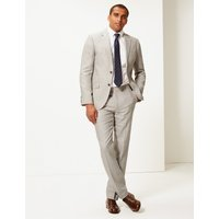 MandS Collection Tailored Fit Linen Miracle Jacket