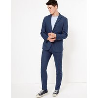 MandS Collection Slim Italian Linen Miracle Jacket