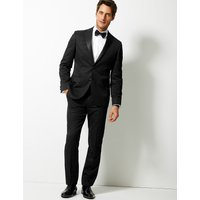 M&S Collection Black Tailored Fit Jacket