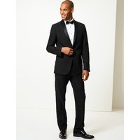 MandS Collection Black Tailored Fit Jacket