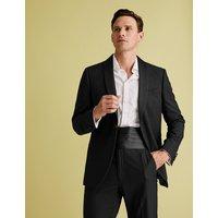 MandS Collection Evening Black Regular Fit Jacket