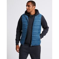 M&S Collection Down & Feather Gilet with Stormwear