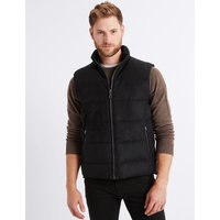M&S Collection Quilted Gilet with Stormwear