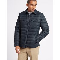 M&S Collection Down & Feather Jacket with Stormwear