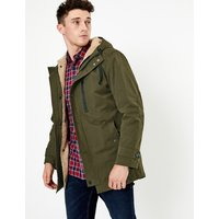 M&S Collection Borg Lined Parka