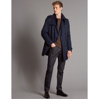 Autograph Cotton Rich Trench Coat with Stormwear