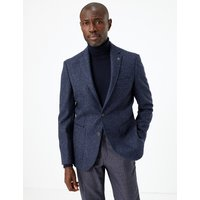 M&S Collection Tailored Fit Wool Jacket