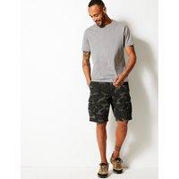 M&S Collection Pure Cotton Authentic Cargo Shorts
