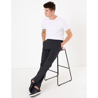 M&S Collection Regular Fit Cotton Rich Chinos