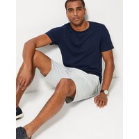 MandS Collection Big and Tall Cotton Rich Chino Shorts