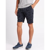 M&S Collection Pure Cotton Camo Print Shorts