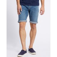 M&S Collection Denim Shorts with Stretch