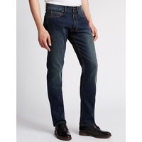 M&S Collection Slim Fit Stretch Jeans with Stormwear