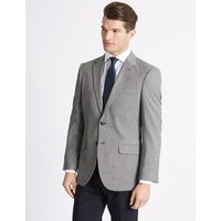 M&S Collection Textured Slim Fit Jacket