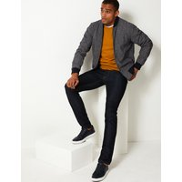 M&S Collection Slim Fit Bomber Jacket