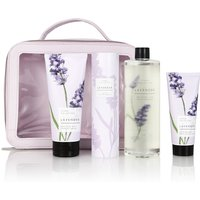 Floral Collection Lavender Toiletry Bag Gift Set