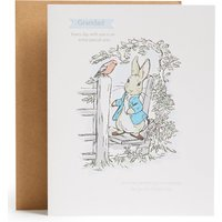 Grandad Peter Rabbit Father's Day Card