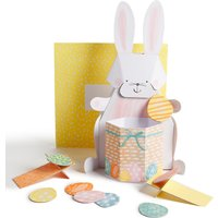 3D Rabbit Easter Card with Easter Egg Game