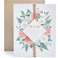 Mum Floral Birthday Card