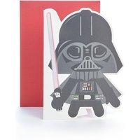 Star Wars Light up Birthday Card