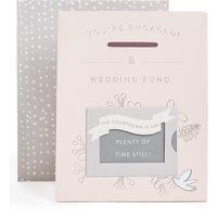 Wedding Countdown Engagement Card