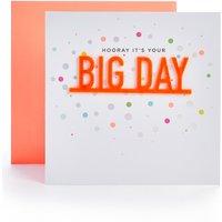 Big Day Wedding Card
