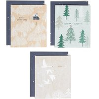 Winter Wonderland Charity Christmas Cards - Pack of 15 - 3 Designs.