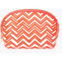 MandS Collection Clear Chevron Make-Up Bag