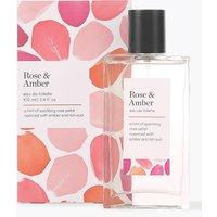 M&S Collection Rose & Amber Eau de Toilette 100ml