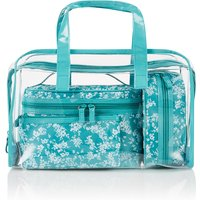 M&S Collection Clear Small Floral Bag