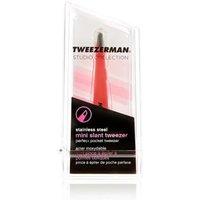 M&S Tweezerman Mini Slant Tweezer - 1SIZE - Geranium, Geranium