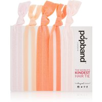 Popband London Grapefruit Multi Pack of Hair Ties