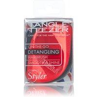 Tangle Teezer Compact Styler Red Chrome Hairbrush