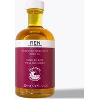 REN Moroccan Rose Otto Bath Oil 110ml.