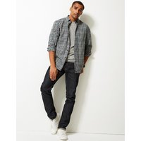 M&S Collection Flannel and Brushed Cotton Checked Shirt