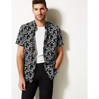 Limited Edition Cotton Rich Printed Shirt