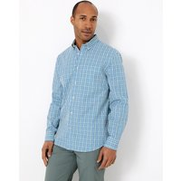 Blue Harbour Pure Cotton Checked Shirt