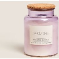 M&S Jasmine Large Jar Candle - 1SIZE - Lilac, Lilac