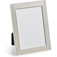 Aurora Silver Metal Photo Frame 12 x 17cm (5 x 7 inch)