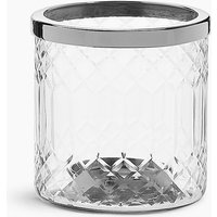 Cut Glass Tea Light Holder