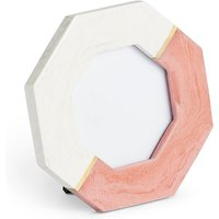 Marble Look Octagonal Photo Frame 10 x 10cm (4 x 4 inch)