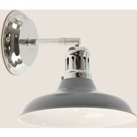 M&S Lincoln Wall Light - 1SIZE - Grey, Grey