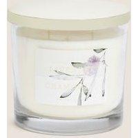 M&S Signature Lavender & Chamomile 3 Wick Candle - 1SIZE - Purple, Purple